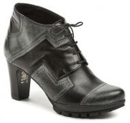 Dámské kotníkové boty Wawel AB242 šedočerná