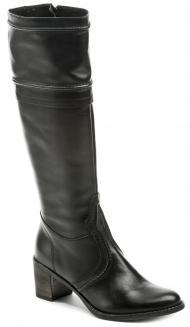 elegantní dámské kozačky Wawel Q74202 černá