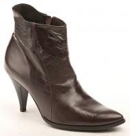 Dámské kotníkové boty Wawel AB771A hnědá